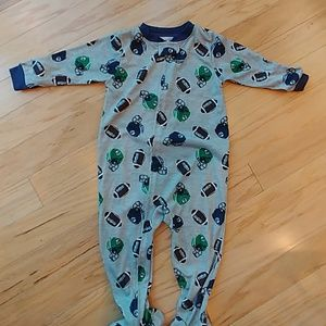 Toddle footed pajama size 24 months